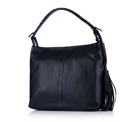 Ashwood Tassel Leather Hobo Bag