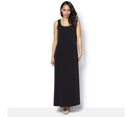 Kim & Co Printed Brazil Knit Long Length Maxi Dress