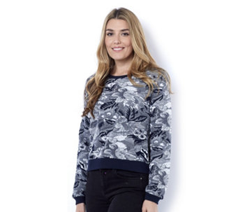 Betty & Co Jacquard Knit Pullover Jumper - 162837