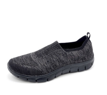 Skechers Empire Inside Look Slip On Trainer with Air Cooled Memory Foam - 163138