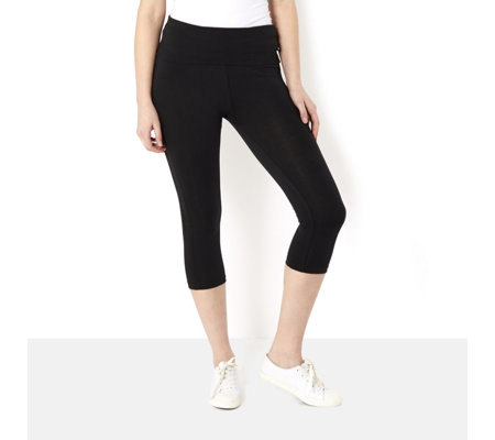Purelime Studio Crop Capri Trousers