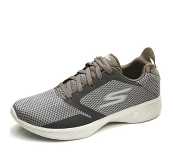 Skechers GOwalk 4 Knitted Hotmelt Lace Up Trainer - 165638