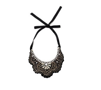 Kim & Co Beaded Collar Necklace - 165938