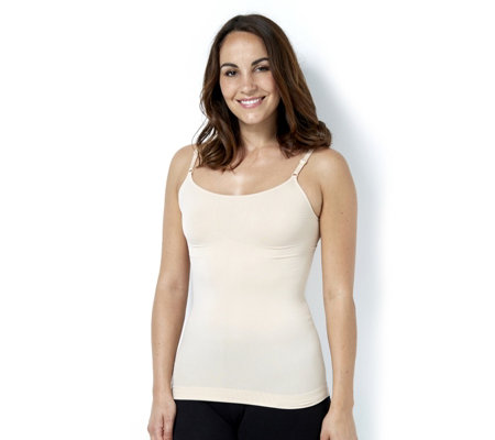 "Vercella Vita ""Shades of Nude"" Light Control Cami with Adjustable Straps"