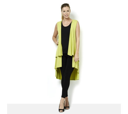 Join Clothes Dipped Back Waterfall Waistcoat