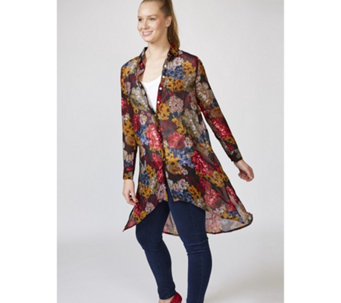 Joe Browns Colours of Autumn Longline Blouse - 168238