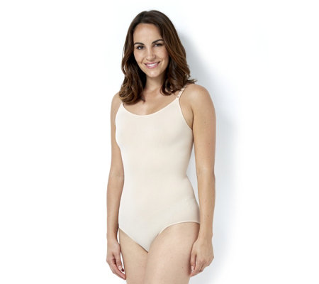 "Vercella Vita ""Shades of Nude"" Light Control Bodysuit with Adjustable Straps"
