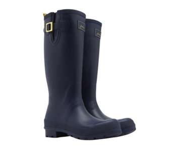 Joules Tall Matte Field Welly with Side Gusset - 169339