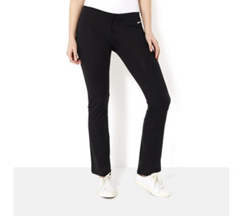 Purelime Tie Wide Leg Activewear Trousers - 164140