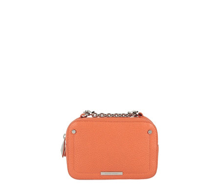 Amanda Wakeley The Chain Bowie Leather Crossbody Bag