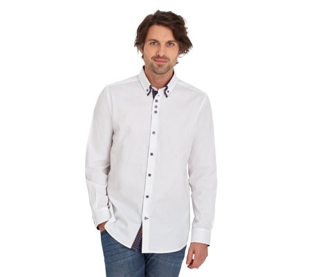 Joe Browns Men's 'Double Trouble' Long Sleeve Shirt