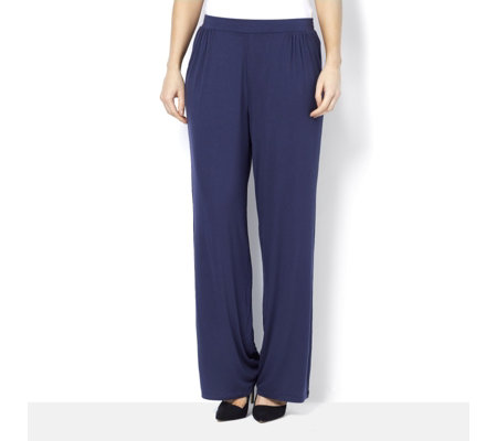 H by Halston Gathered Palazzo Trousers