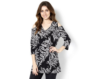 Cold Shoulder Tunic by Michele Hope - 163542