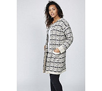 Joe Browns Chunky Open Knit Coatigan - 168742