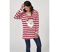Antthony Designs Long Sleeve Christmas Top - 170242