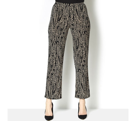 Antthony Designs Straight Leg Printed Trouser