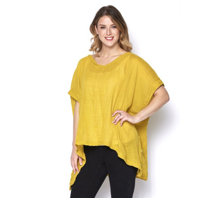 Join Clothes Soft Cotton Oversized Tunic