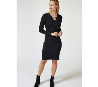 Joe Browns Rock Chick Ribbed Knit Dress - 169943