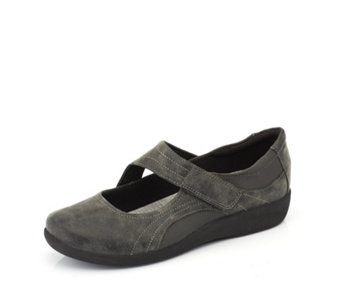 Clarks Sillian Bella Mary Jane Trainers - 166345