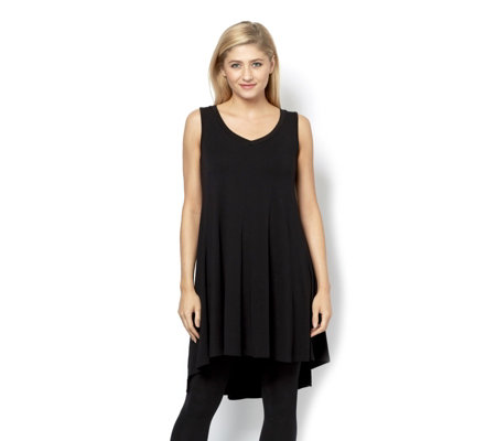 Join Clothes Sleeveless Godet Back Tunic Top