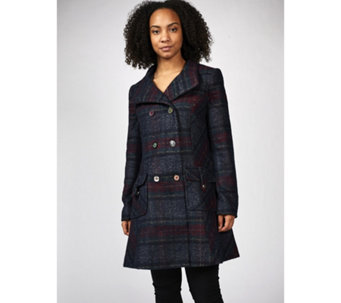 Joe Browns Highland Check Coat - 170348