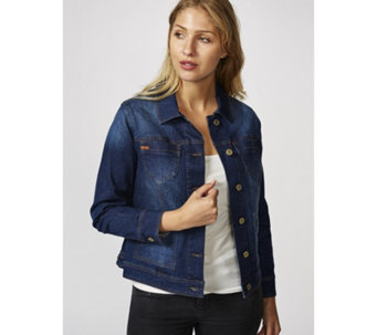 Isaac Mizrahi Live True Denim Jacket - 165349