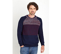 Joe Browns Men's Mix It Up Knit Jumper - 168749