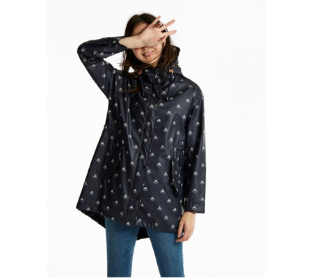 Joules Hooded Parka With Capped Peak