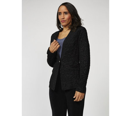 Antthony Designs Long Sleeve Embroidered Jacket