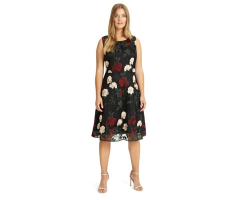 Studio 8 by Phase Eight Embroidered Lizzy Dress