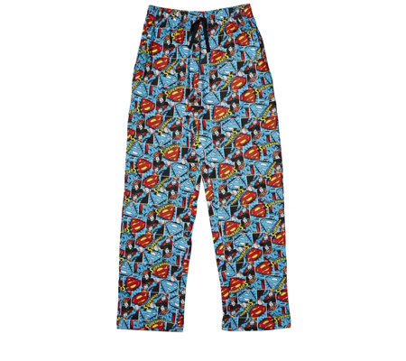 Warner Bros Mens Superman Lounge Trousers
