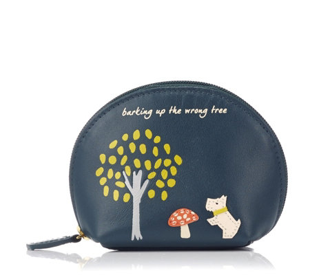 Radley London The Wrong Tree Small Leather Zip Coin Purse