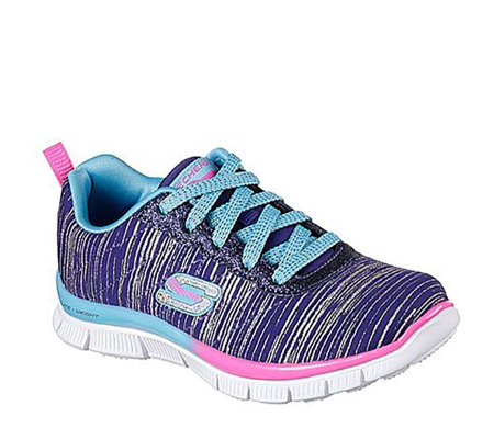 Skechers Kids Skech Appeal Glitter Rush Trainer