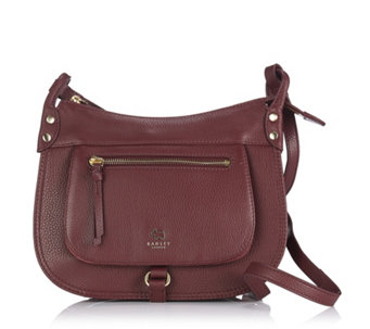 Radley London Highgate Wood Medium Leather and Suede Crossbody Bag - 169851