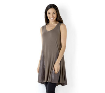 Join Clothes Sleeveless Top with Lux Godets - 155952