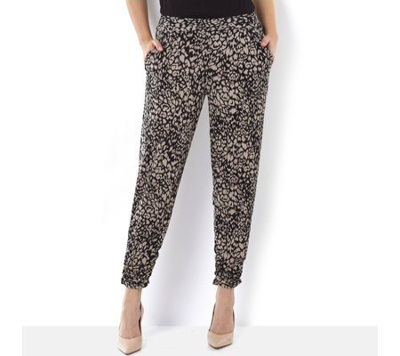 Antthony Designs Printed Pull On Trousers