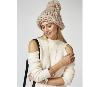 Pia Rossini Cosette Knitted Hat - 168352