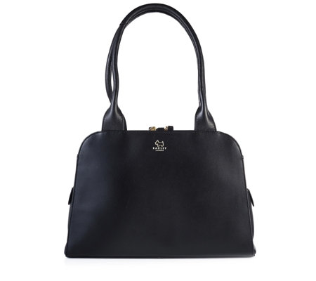 Radley London Millbank Medium Leather Zip Top Tote Bag