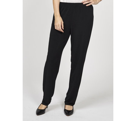 Relaxed Jersey Straight Leg Trousers by Michele Hope