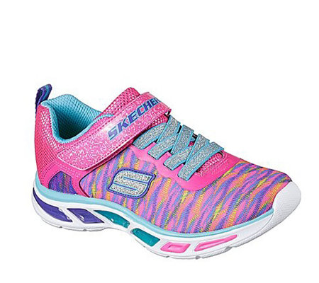 Skechers Kids Litebeams Colourburst Bungee Trainer
