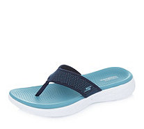 Skechers On The GO 600 Knitted 3 Point Sandal with Molded Footbed - 171353