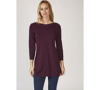 Ruth Langsford Knitted Boat Neck Long Line Jumper - 168954