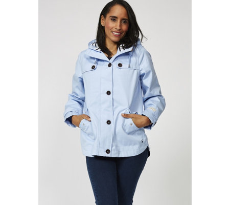 Joules Waterproof Cotton Canvas Coast Coat