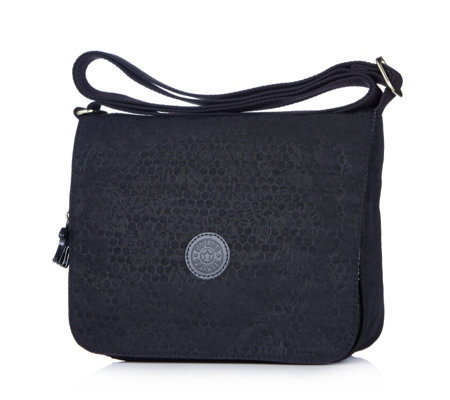 Kipling Zrine Small Flapover Crossbody w/ Back Zip Pocket
