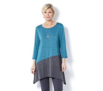 Grace Scattered Stud Tunic & Necklace - 162957