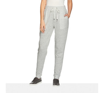 Anybody Loungewear French Terry Banded Cuff Jogging Pant - 158258