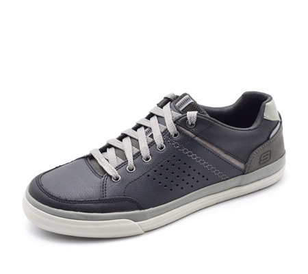 Skechers Men's Diamond Back Rendol Low Profile Lace Up Shoe