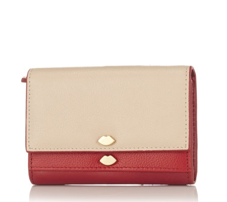 Lulu Guinness Elena Leather Purse