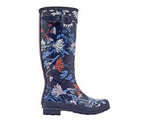 Joules Tall Matte Field Welly Side Gusset - 168958