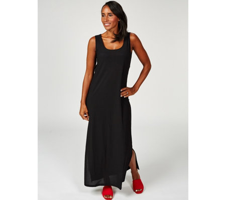 Attitudes by Renee Sleevess Tie Waist Maxi Dress